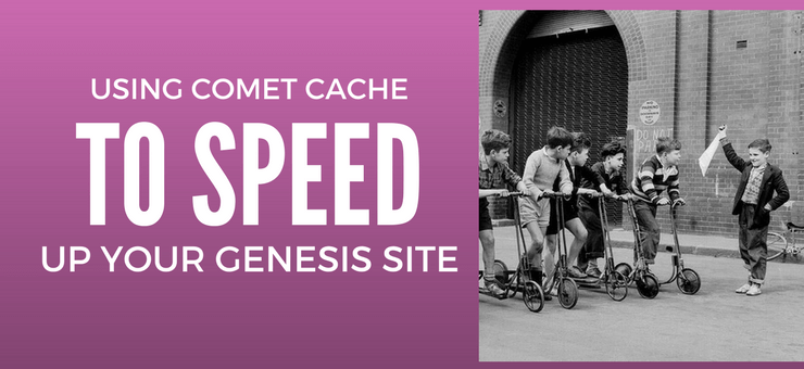 Review: Using Comet Cache in WordPress and Genesis
