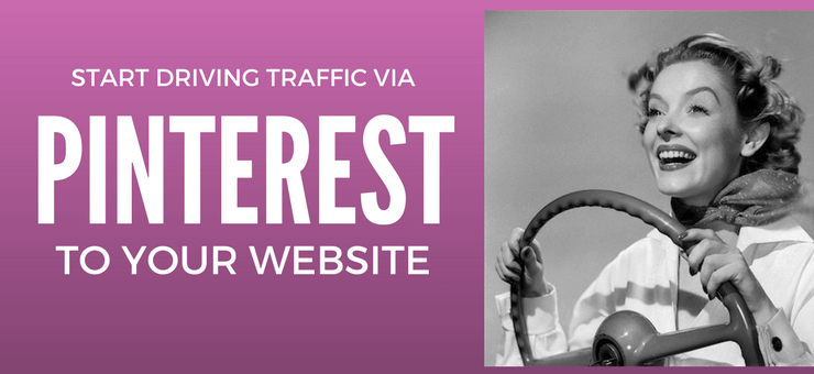 Start driving traffic to your website via Pinterest - Featured Image