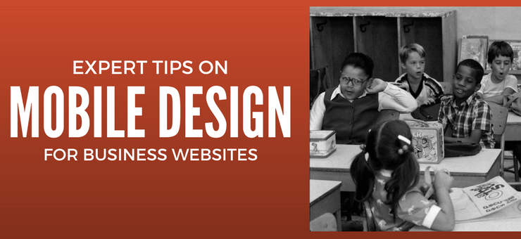 Expert tips for mobile web design on business websites - Featured Image