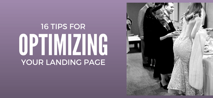 Optimising your Landing Page to Increase Traffic