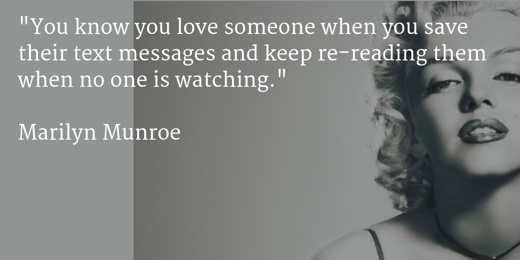 It all comes from spending too much time on Facebook - #MarilynMunroe #Quotes