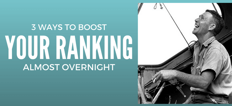 3 Ways to Improve Site Ranking almost Overnight