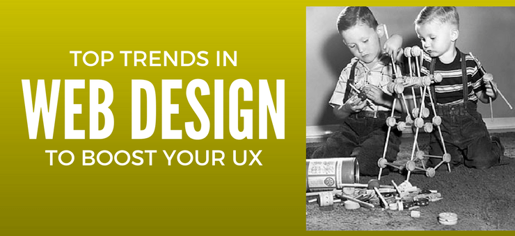 Trends in web design that will boost user experience - Featured Image