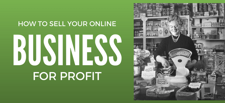 Sell Your Website For Profit - Featured Image