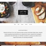 cafe web designs