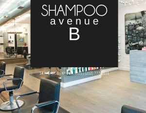 hair salon web design sample - simple