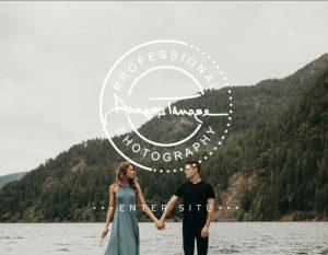 web design for photographers - stylish