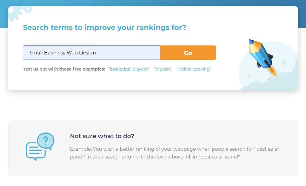 2 Choose Search Terms