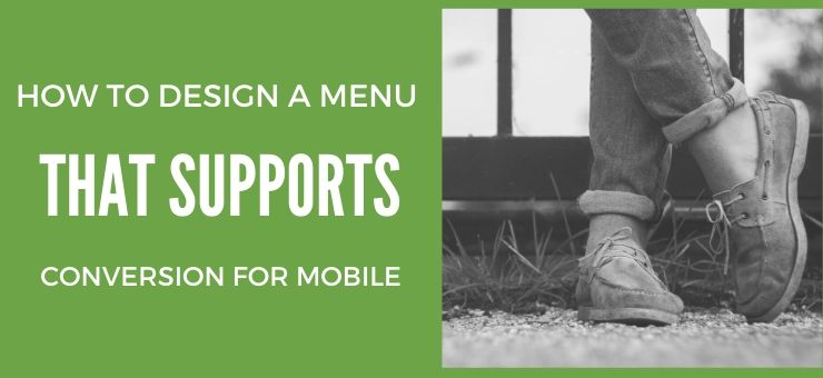 How to Design a Mobile Web Menu