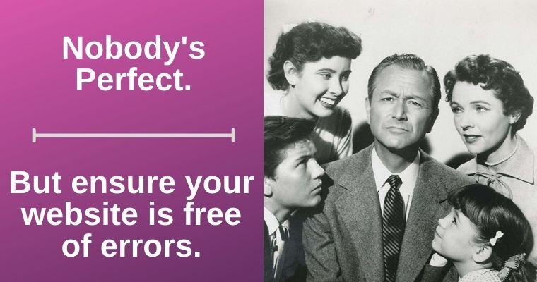 Error Free Web Design